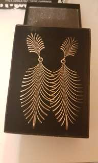 new with box!  gorgeous statement earrings