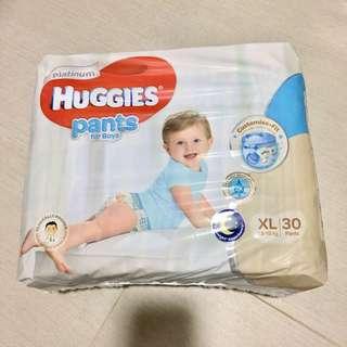 Platinum Huggies Pants XL size