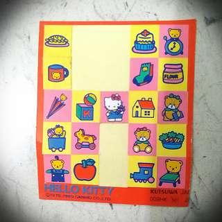 Hello Kitty Sticker 89 吉蒂貓貼紙