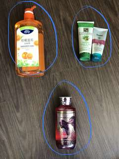 Dishwashing liquid/shower gel/hand cream - SALE
