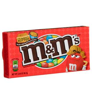 M&M Peanut Butter 87.9g (Theater Box)