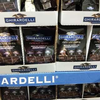 🚚 GHIRARDELLI黑巧克力綜合包