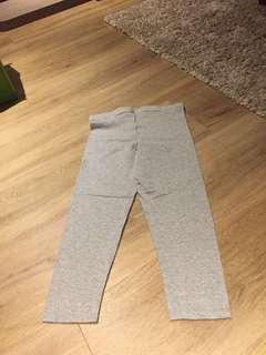 Cotton Grey Leggings