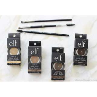 ELF Lock on Liner & Brow cream