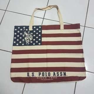 US Polo Cotton Tote Bag #20under
