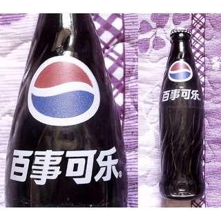 百事可樂2000年生產中國活動版玻璃樽