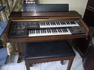 Organ Piano Keyboard, Yamaha Electone Original..