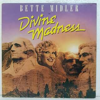 Bette Midler - Divine Madness Vinyl Record