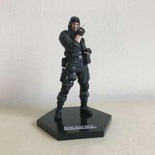 🚚 收藏自售 潛龍諜影 特攻神諜 Metal Gear Solid 2 snake 老蛇公仔