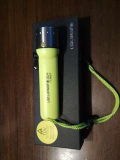 New dive torch waterproof to 60m