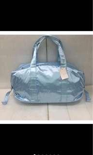 F21 duffel travel gym bag