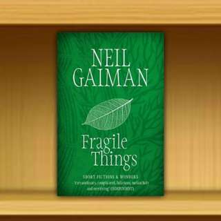 BN - Fragile Things By Neil Gaiman