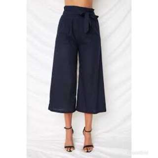 DOLLY GIRL FASHION Navy Pants (size 12)