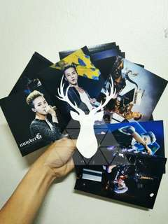 (ready stock) unofficial G-Dragon 4R printed photos