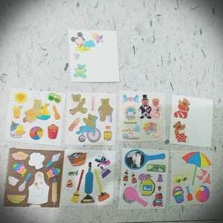 熊仔 米奇 家具 Bear Sticker 貼紙