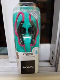 Sony Active Lifestyle Stereo Headphones MDR-AS200 PINK