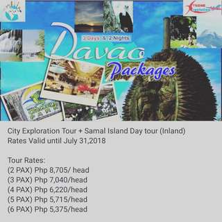 Davao Package 3d2n