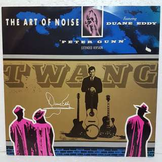 The Art Of Noise - Peter Gunn Vinyl Record