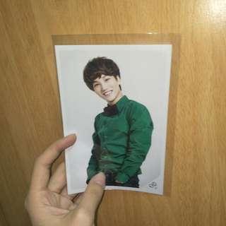 (ready stock) official exo kai natural republic photo card