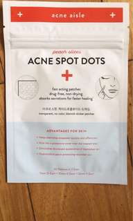 Peach Slices Acne Spot Dots (Pimple Patch)