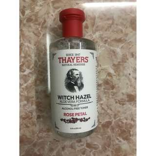 Thayers Witch Hazel Alcohol-free Toner (Rose Petal)