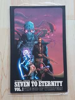 Image Comics Seven to Eternity TPB Near Mint Condition First Print