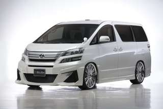 Looking Toyota Vellfire 2.4 year 2013 above