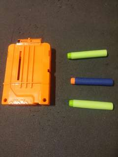 Nerf bullets and Magazine