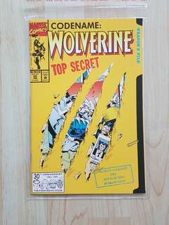 Marvel Comics Wolverine 50 Near Mint Condition Jim Lee Pin Up
