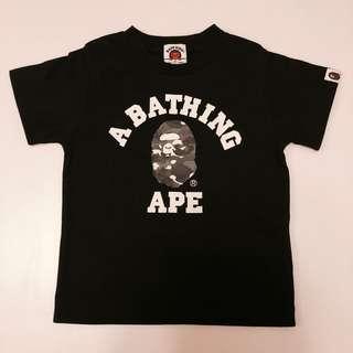 BAPE KIDS Tee 上衣 A bathing ape