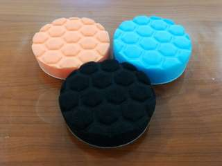 "Polishing foam pad 3pcs/set  (4""/5""/6""/7"")"