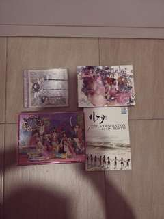 4 Girls Generation Albums