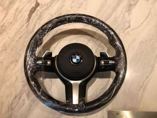 Bmw F30 M sport steering wheel (with airbag)