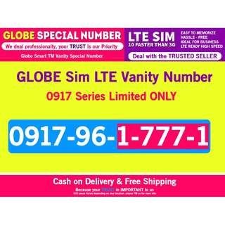 Globe 0917 Special Number