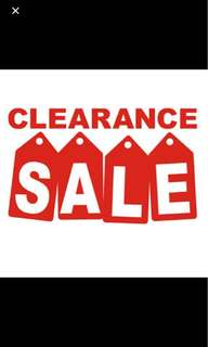 MOVING OUT SALE! ALL ITEMS REPRICED! FREE SHIPPING for P1k&up