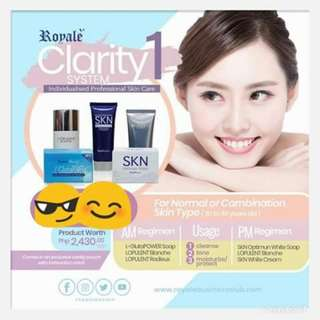 Clarity System 1 - Skin care