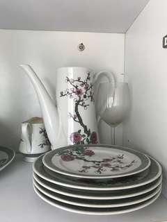 名貴杯碟碗 dish bowl pot