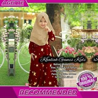 Baju Muslim Anak Exclusive Khaliah - Baju Muslim Premium