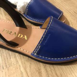 100% new and real -Prada 涼鞋,36 碼 ,全皮