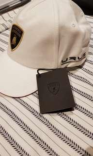 LAMBORGHINI cap in white- NEW with tag