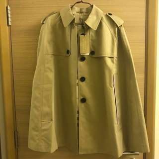 Burberry trench cloak