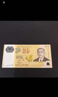 Singapore Brunei Darussalam $20