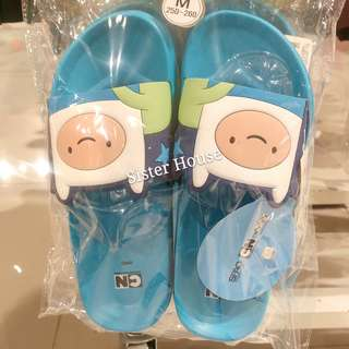 🇰🇷SPAO x Adventure Time Finn Slippers 探險時光芬拖鞋