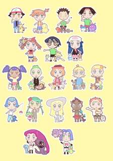Chibi stickers commissions