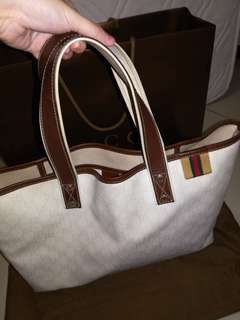 Authentic limited edition white Gucci handbag