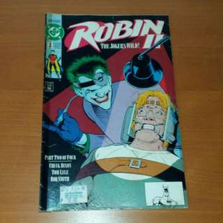 Vintage 1991 DC Comics, Robin II, The Joker's Wild