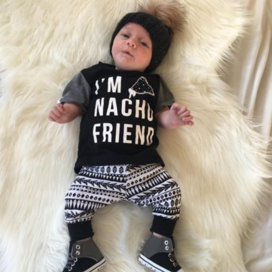 5d303d9f8570 2PCS Toddler Kid Baby Boys Girl Clothes Hoodie Coat Shirt Tops+Pants ...