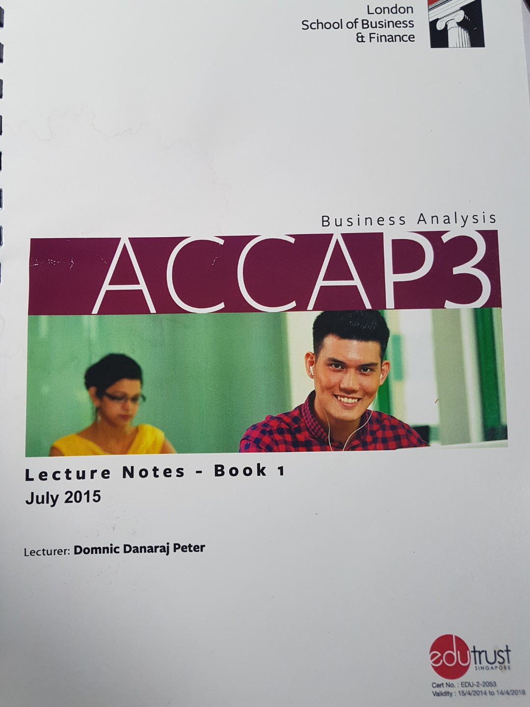 ACCA P3 Lecture Notes by LSBF