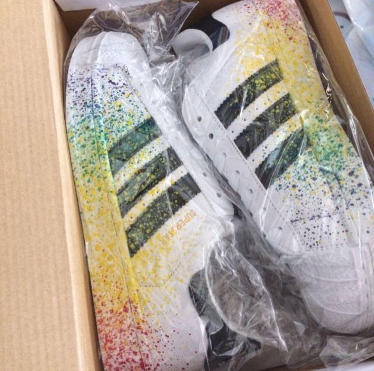 adidas superstar colors splash
