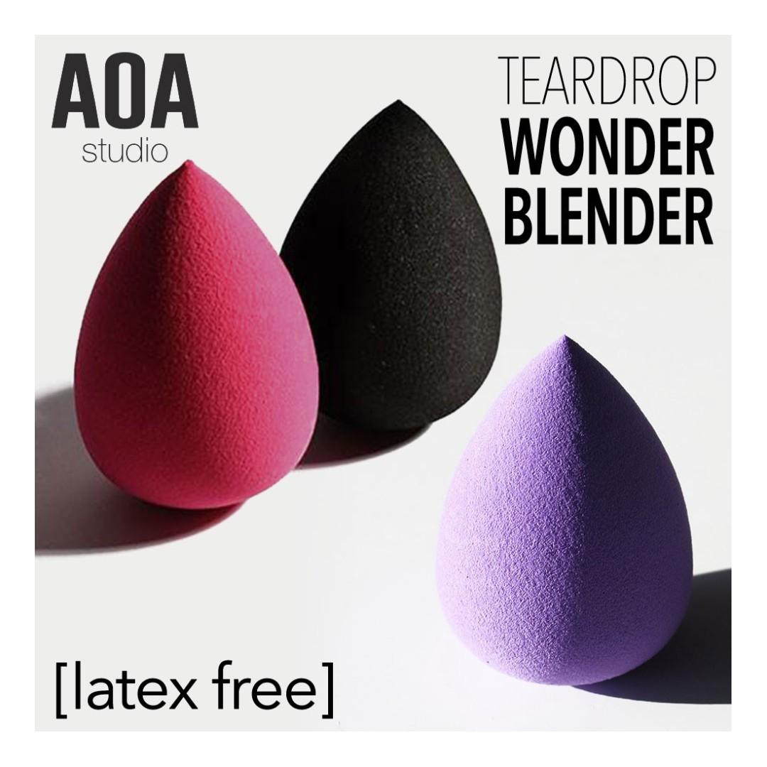 Aoa Wonder Blender Makeup Sponge Health Beauty On Carousell Egg Drop Contouring